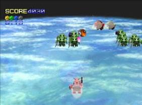 Gundam Over Galaxian (PS1 - 96)
