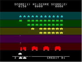 Space invaders (Saturn - 96)