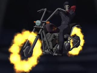 Hell Rider, l'un des nombreux Fiends rencontrés