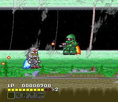 SD Gundam V (SNES - 92)
