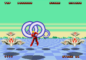 Space Harrier 2 (MD - 88)