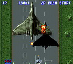 Sonic Wings (SNES - 93)