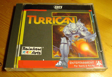 Turrican version CDTV
