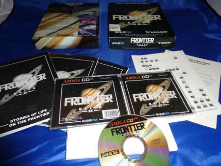 Big Box complète de Frontier Elite II