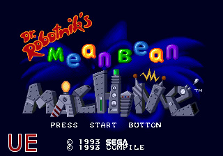 Dr Robotnik's Mean Bean Machine UE