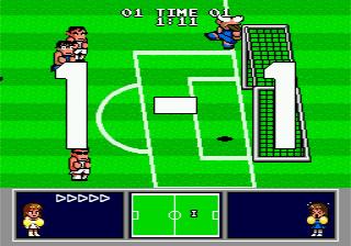 Nekketsu Koukou Dodgeball-bu Soccer-hen MD 1