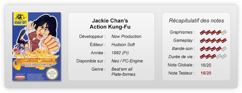 Jackie Chan notes