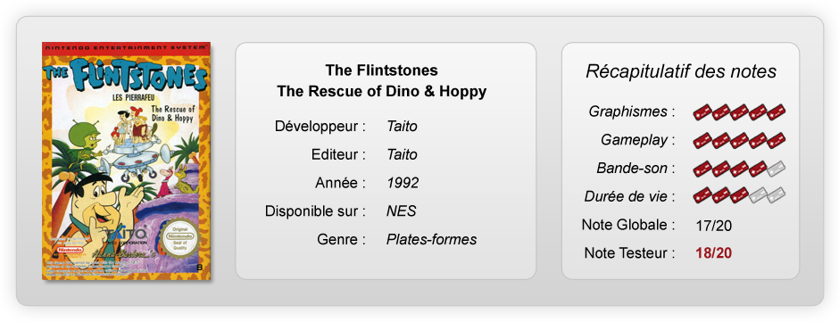 flintstones notes