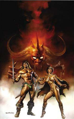 Conan the Cimmerian by Boris