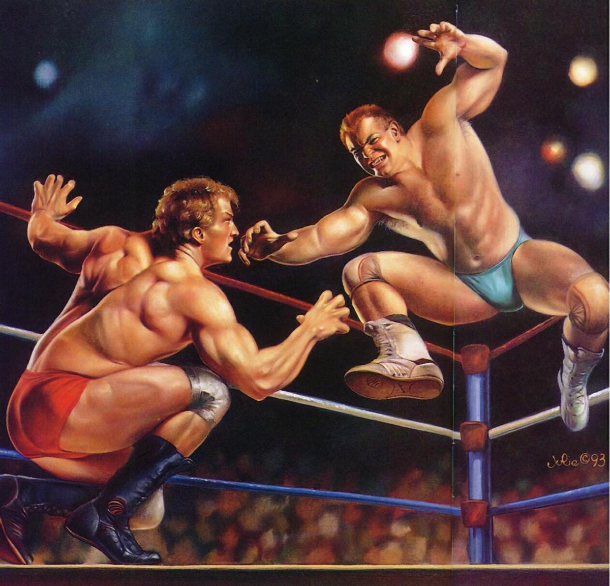 Natsume Championship Wrestling by Julie (SNES US & EUR)
