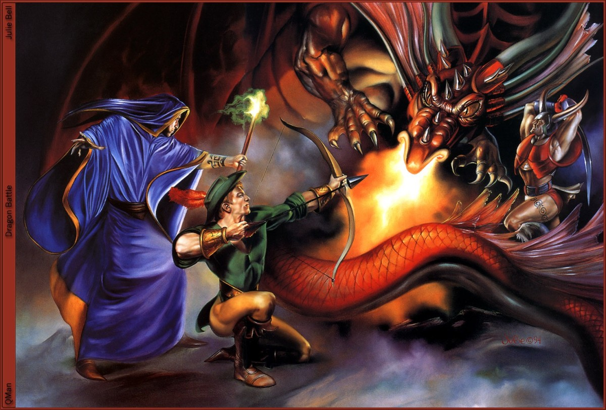 King of Dragons by Julie (SNES US)
