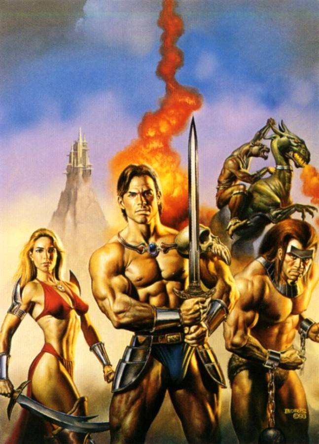 Golden Axe 3 by Boris