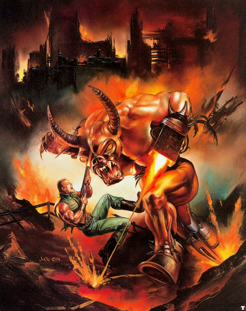 Doom II by Julie