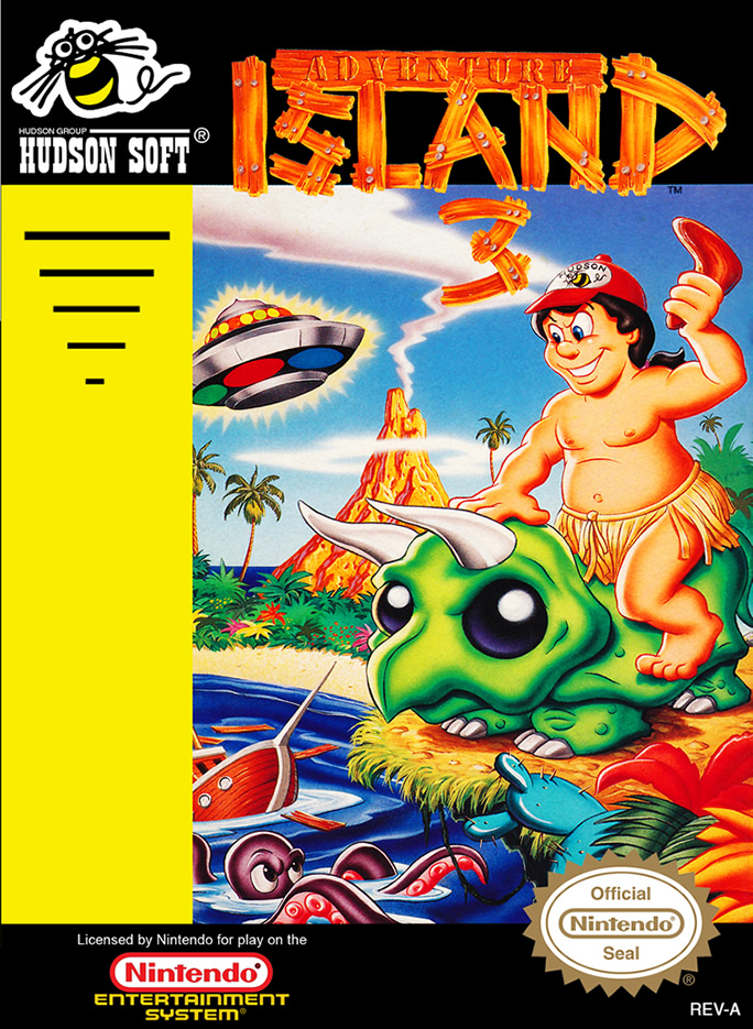 Adventure Island 3 (Nes US)