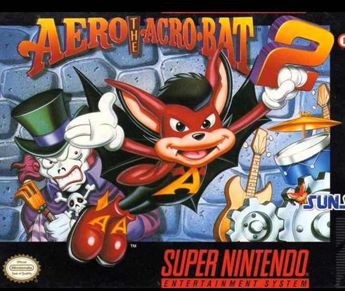 Aero the Acro-Bat 2 (Megadrive & Snes US & EURO)