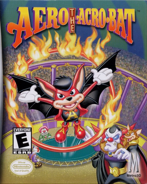 Aero the Acro-Bat (GBA US & EURO)