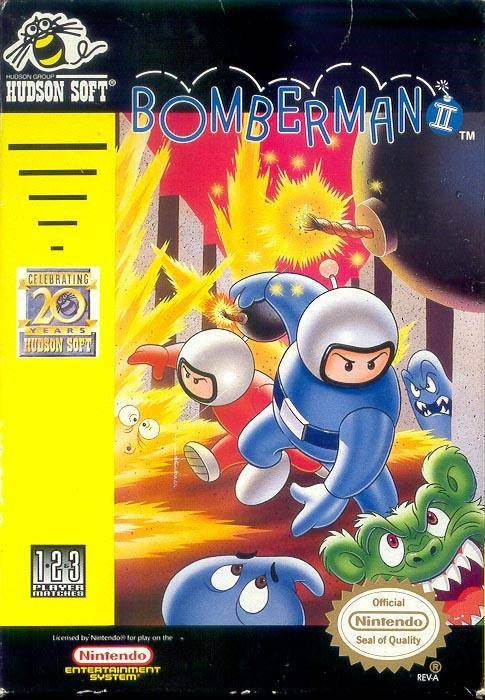 Bomberman 2 (Nes US)
