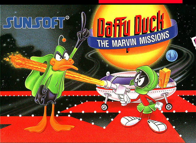 Daffy Duck the Marvin Missions (Snes US & EURO)