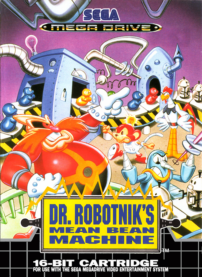 Dr Robotnik's Mean Bean Machine/strong> (MD & MS & GG US & EURO)