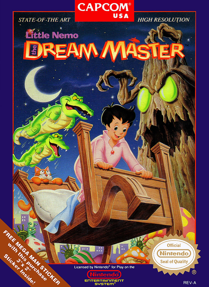 Little Nemo - Dream Master (NES US & EURO)