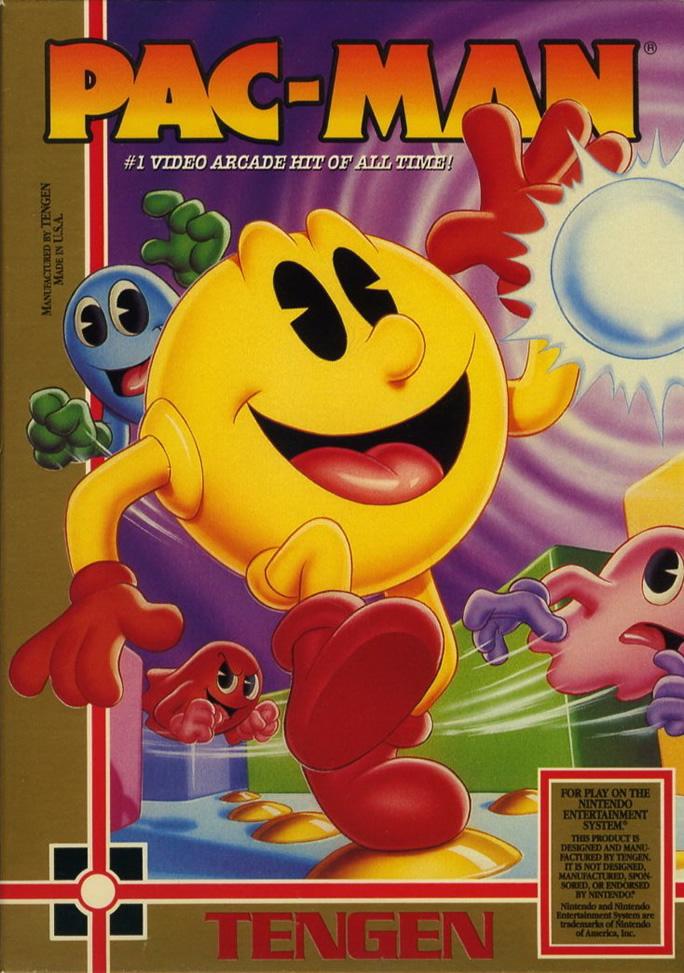 Pac-Man Tengen (Nes US)