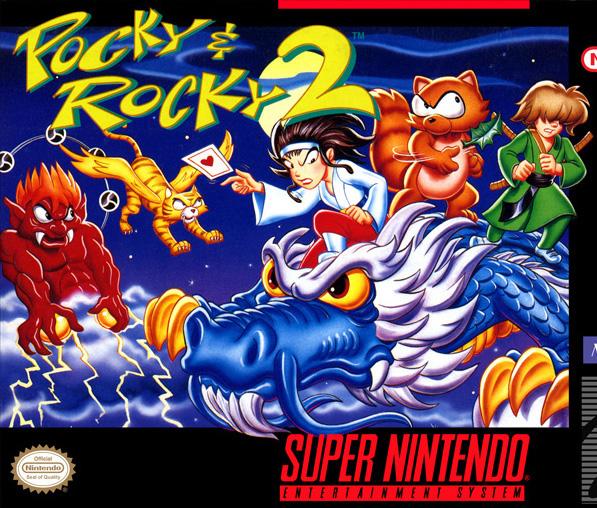 Pocky & Rocky 2 (Snes US & EURO)
