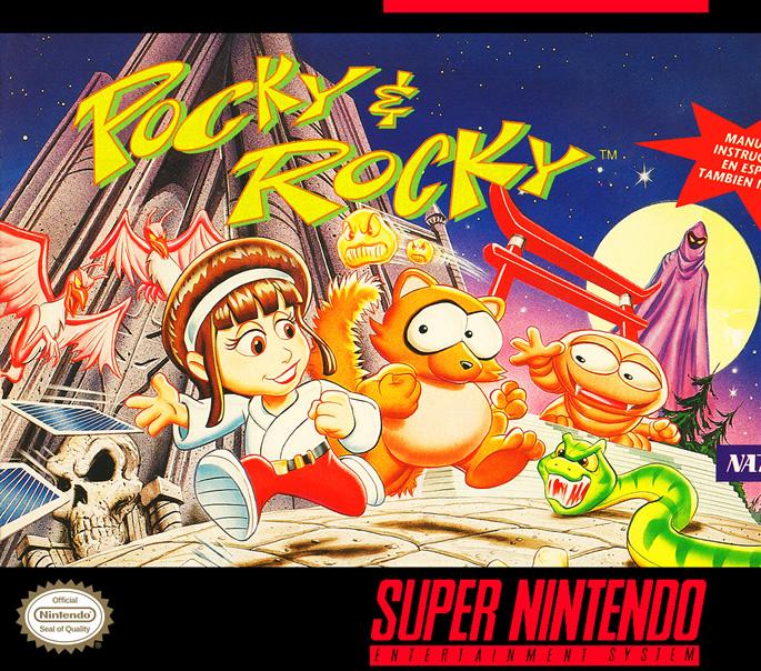 Pocky & Rocky (Snes US & EURO)
