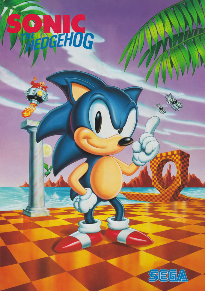 Sonic (Poster US & EURO)