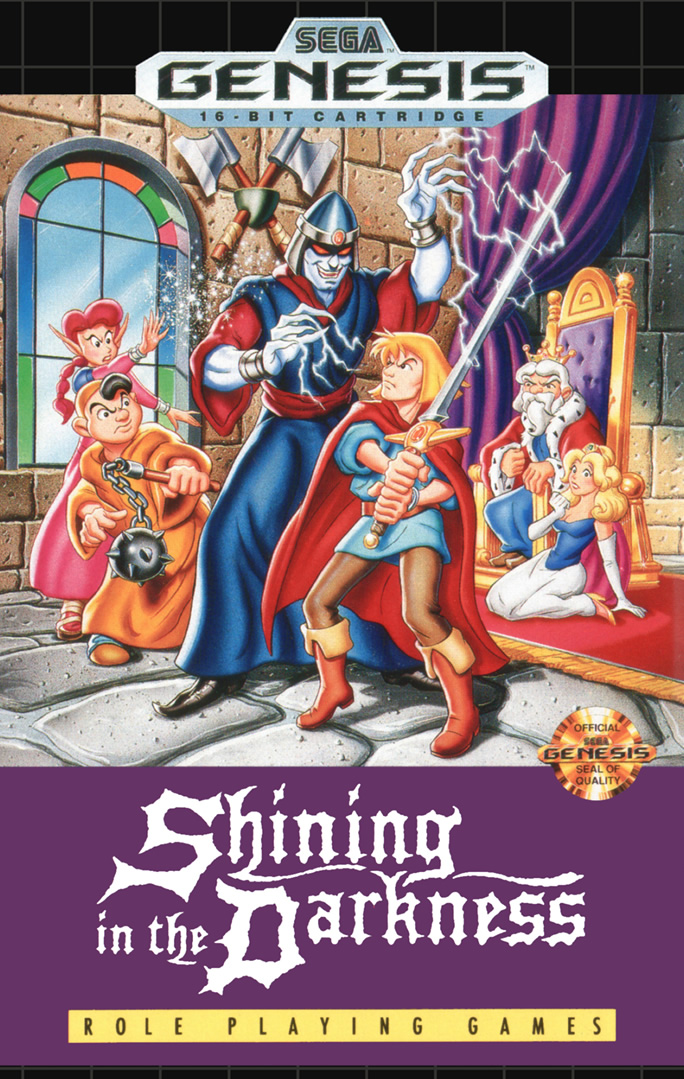 Shining in the Darkness (Megadrive US & EURO)