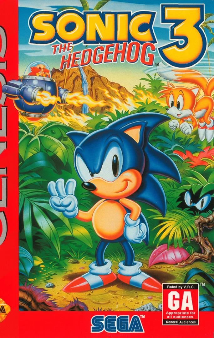 Sonic 3 (Megadrive US)