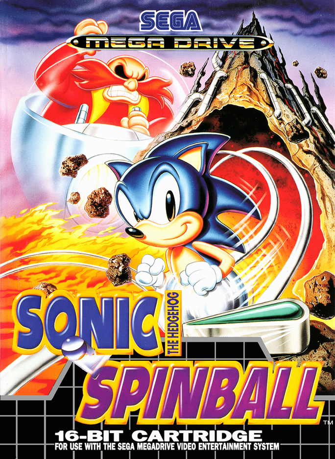 Sonic Spinball (Megadrive US & EURO)