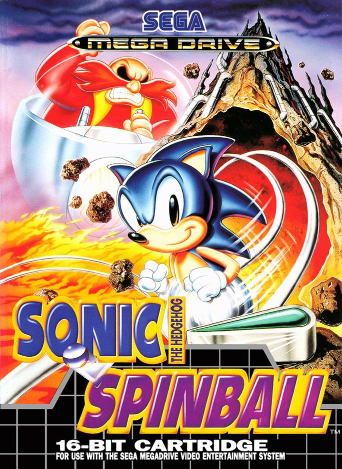 Sonic Spinball (Megadrive US & EURO)