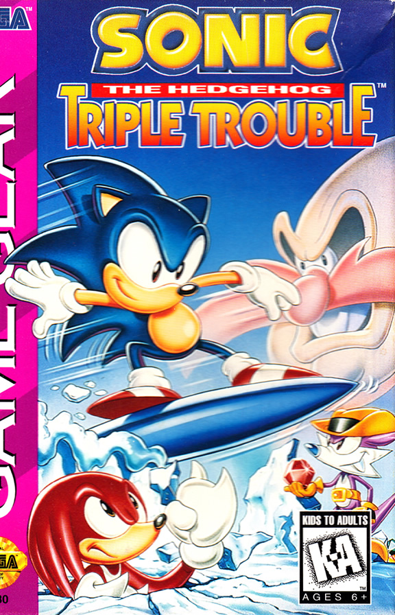Sonic Triple Trouble (GG US & EURO)