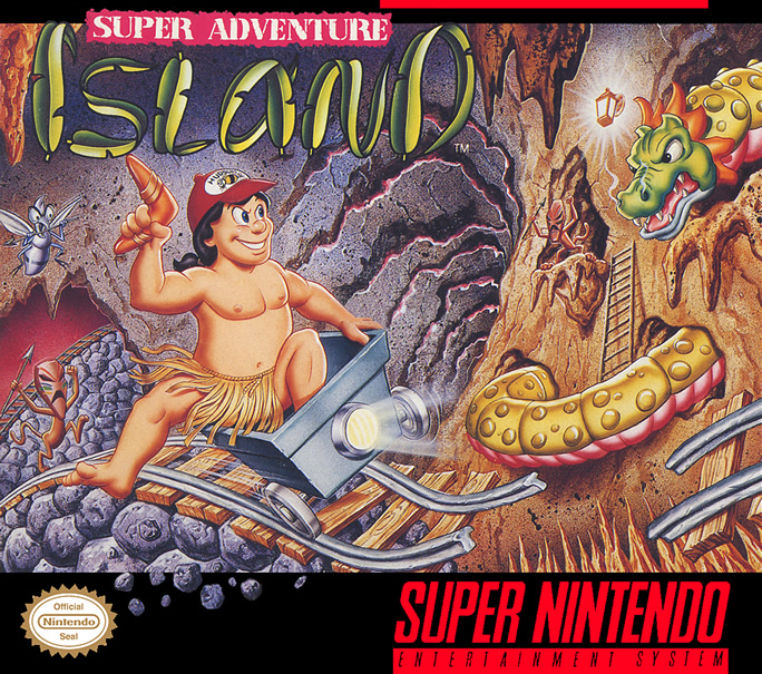 Super Adventure Island (Snes US)