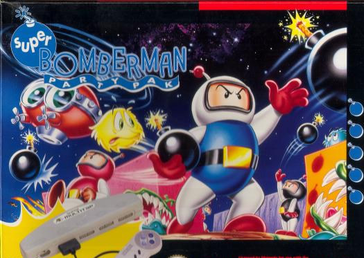 Super Bomberman (Snes US)