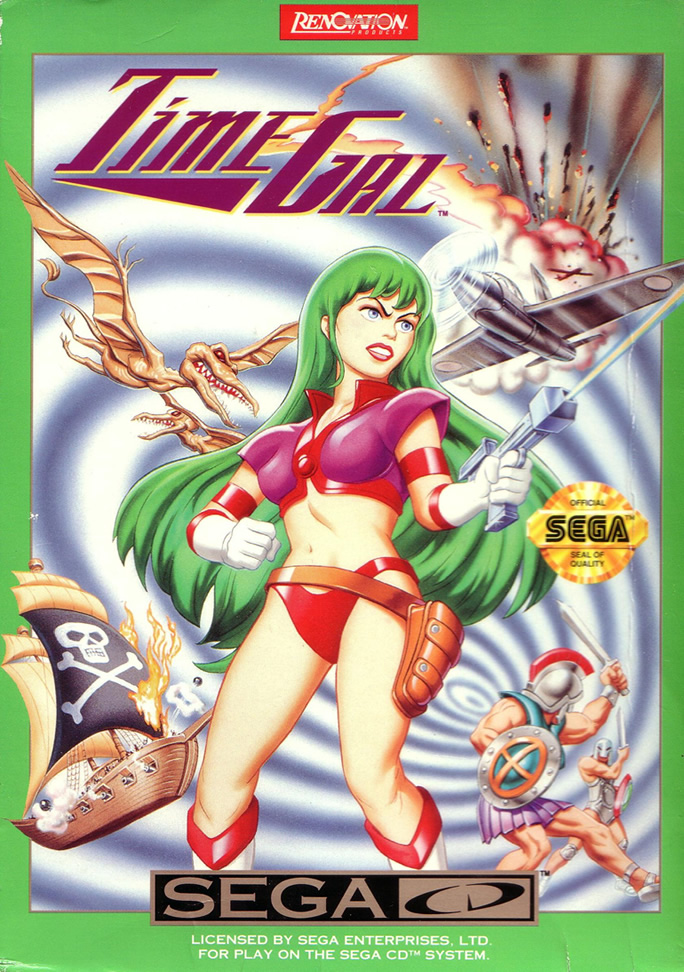 Time Gal (Mega CD US & EURO)