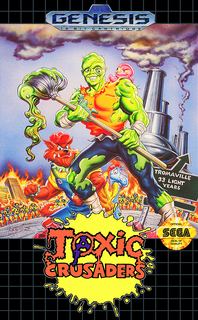 Toxic Crusaders (Megadrive US)