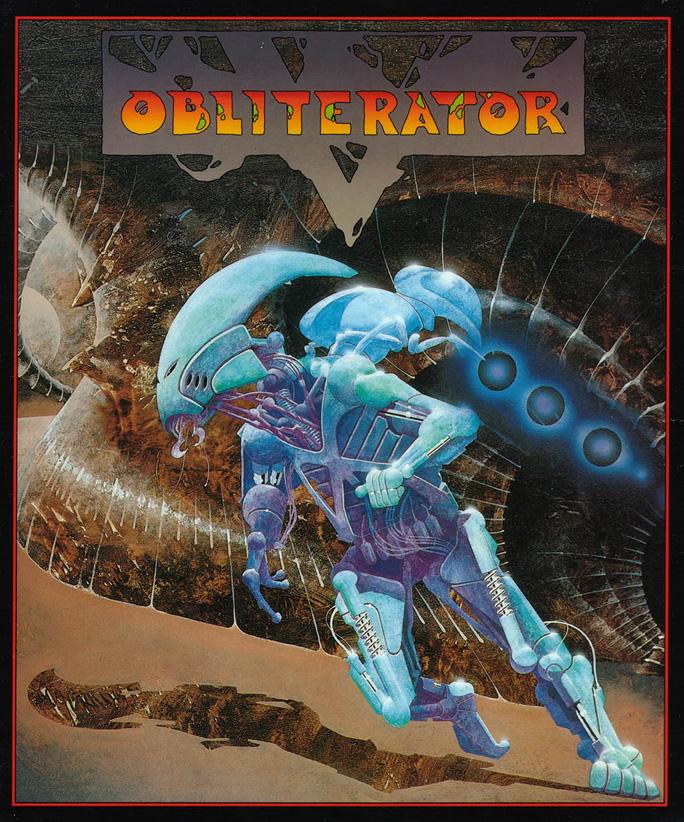 Obliterator (Amiga & Atari ST US & EUR)