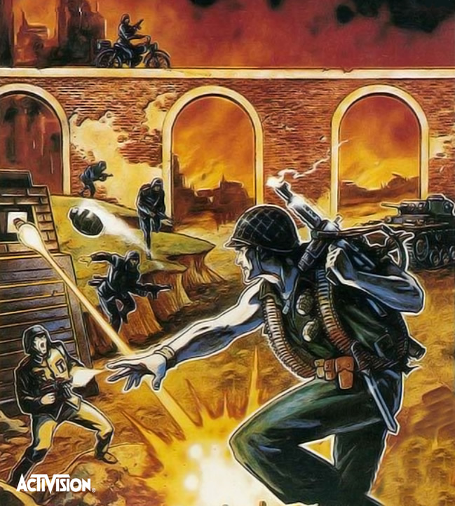 Commando (Atari 2600 & Atari 7800 US)