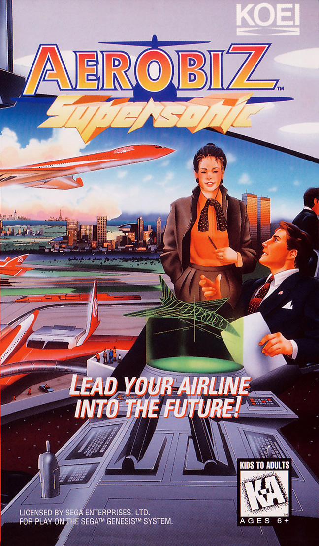 Aerobiz Supersonic (Megadrive & Snes US)