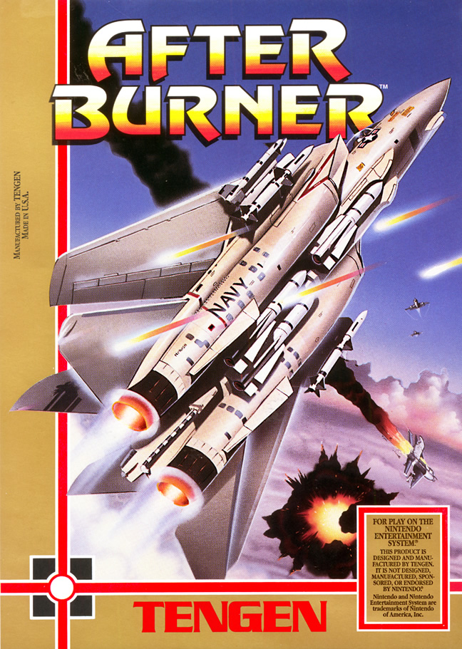 After Burner (Nes US)