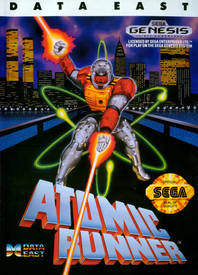 Atomic Runner (Megadrive US)