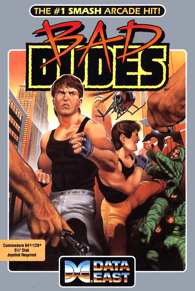 Bad Dudes (Apple II & C64 & PC & Nes US)