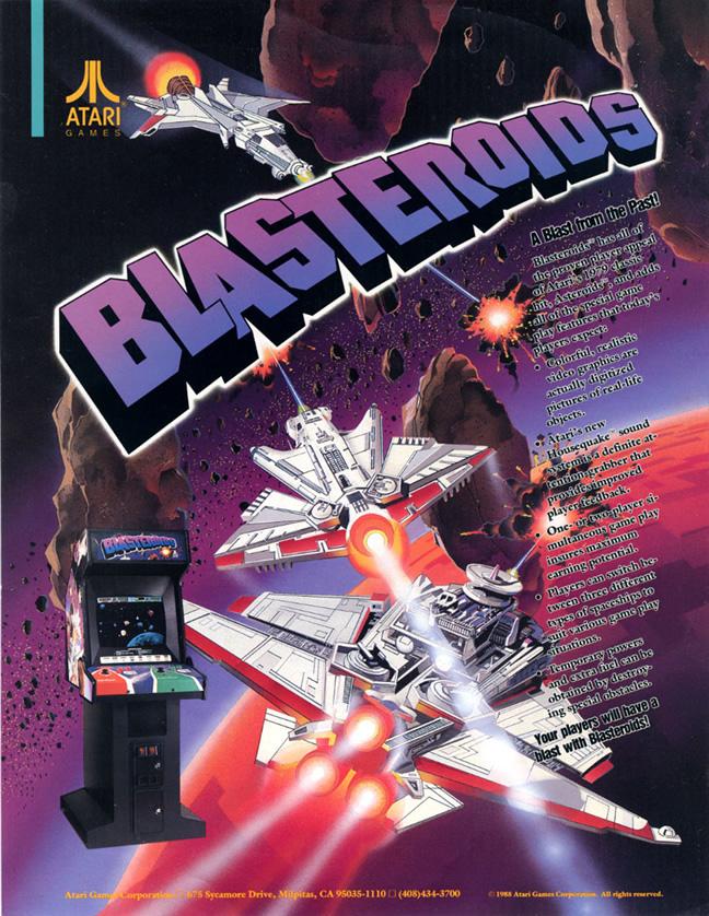 Blasteroids (Arcade  US)