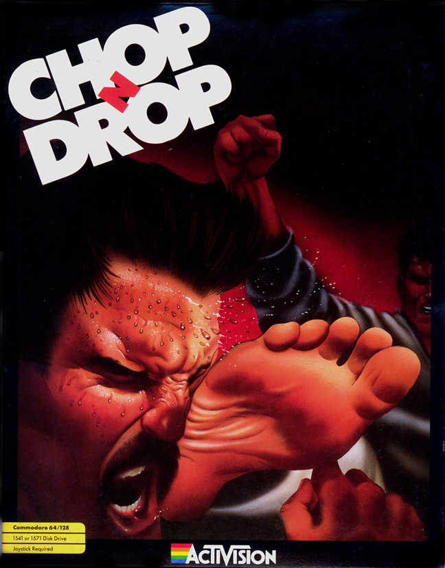 Chop N' Drop (C64 US)