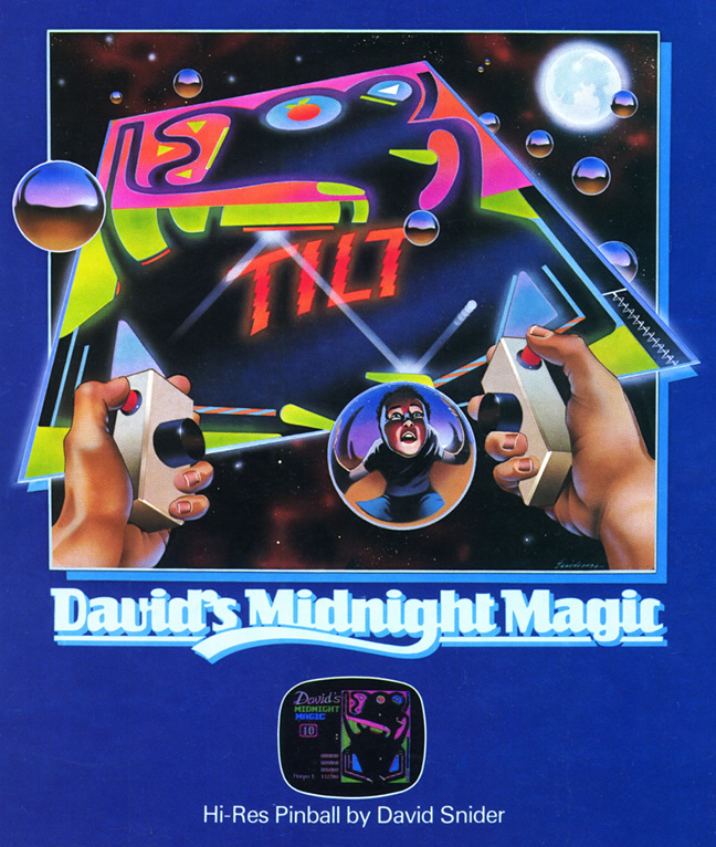 David's Midnight Magic (A2600 & C64 US)