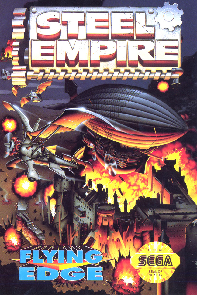 Steel Empire (Megadrive US & EUR)