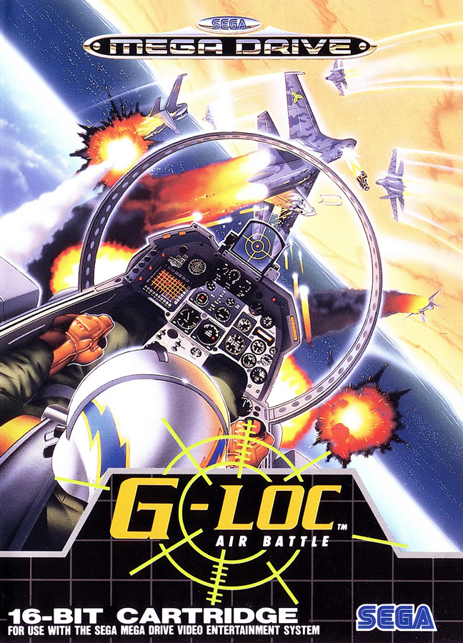 G-Loc Air Battle (Megadrive US & EUR)