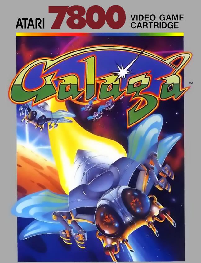 Galaga (A7800 US)
