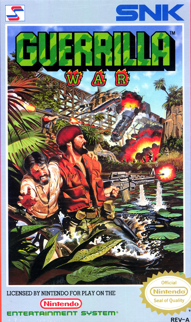 Guerrilla War (Nes US)